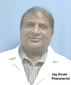 Jay Doshi Pharmacist